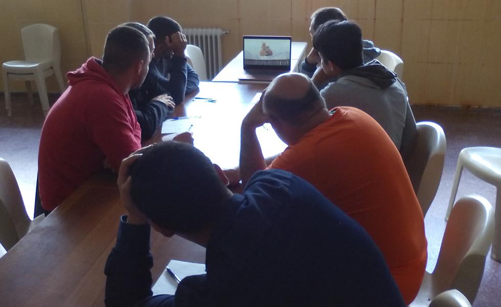 Proyecto Hombre provincia de Cádiz continua con el trabajo que lleva a cabo en la prisión de Puerto III.