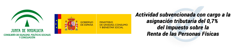 Subvención de la Consejería de Igualdad, Políticas Sociales y Conciliación de la Junta de Andalucía