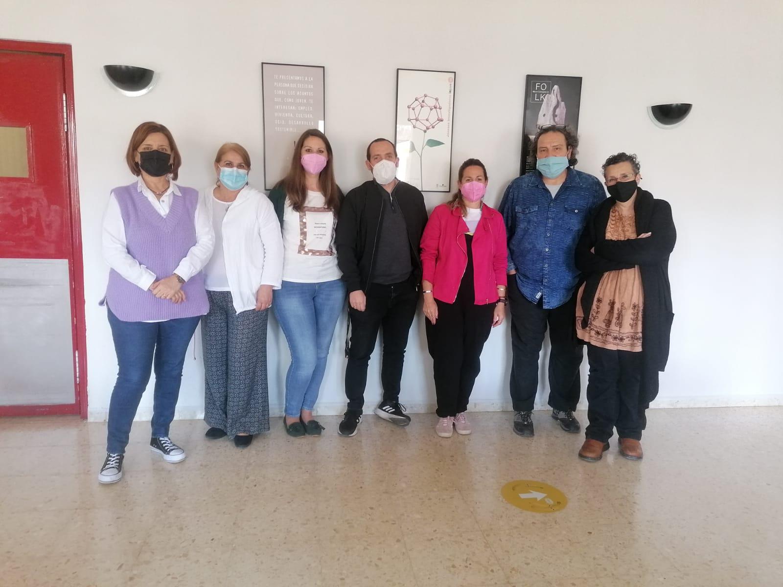 Reunión grupo Igualdad Asociación andaluza de Proyecto Hombre